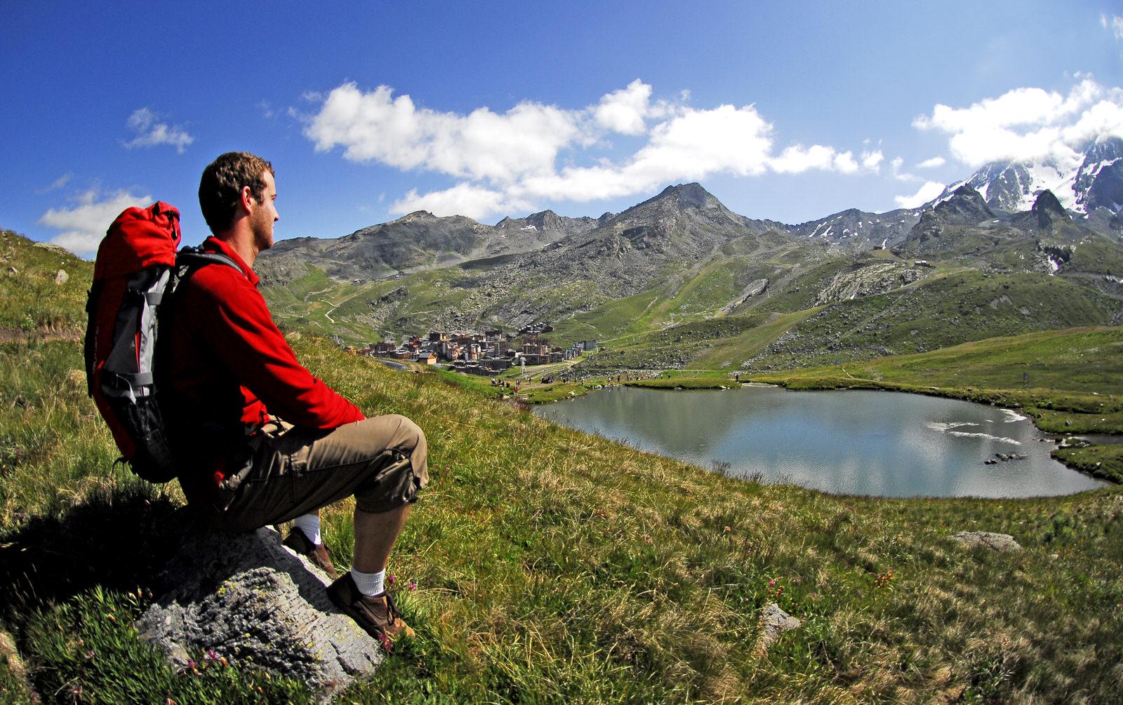 Randonneur - Les 3 Vallées