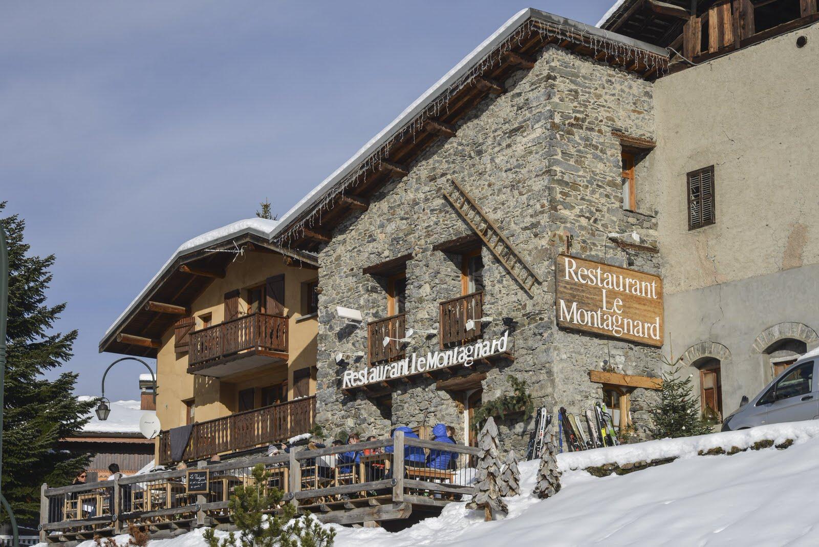 Restaurant terrasse à Saint Martin de Belleville - Le Montagnard